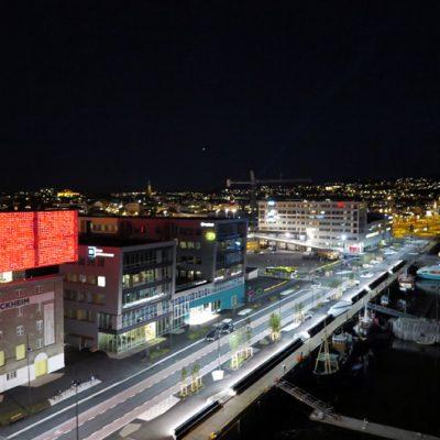 Trondheim by Night.