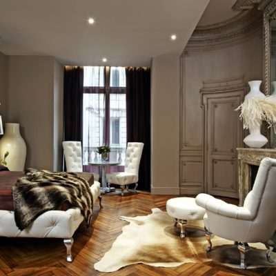 Das Highlight: Die Lafayette Suite sorgt für einen majestätischen Aufenthalt voller Glamour. (Foto: SLH)