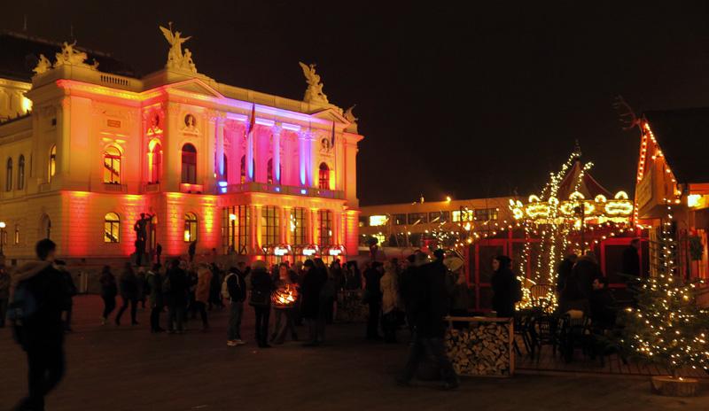 Im Spotlight: Die Zürcher Oper.