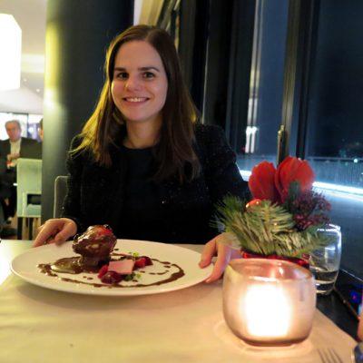 Dinner im DOX Restaurant: Dessert.