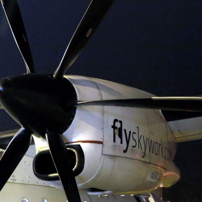 Wir fliegen mit der Dornier 328.