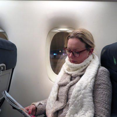 Im SkyWork Magazine kann man sich über die Airline und ihre Destinationen informieren.
