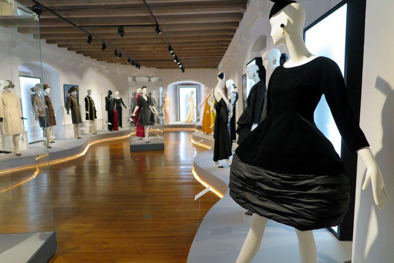 Audrey Hepburn Ausstellung im Schloss Morges.
