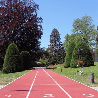Auf die Plätze fertig los: Das Olympische Museum in Lausanne.