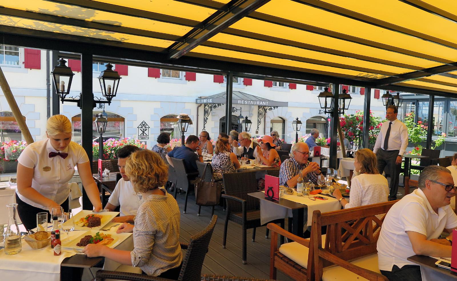 Morges die koketteste stadt der schweiz cohoba for Restaurant le jardin domont