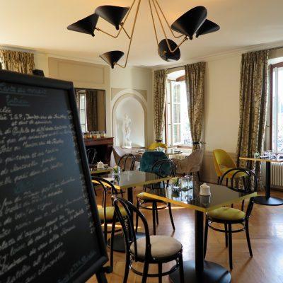 Ganz neu: Die Brasserie de Petit Manoir.