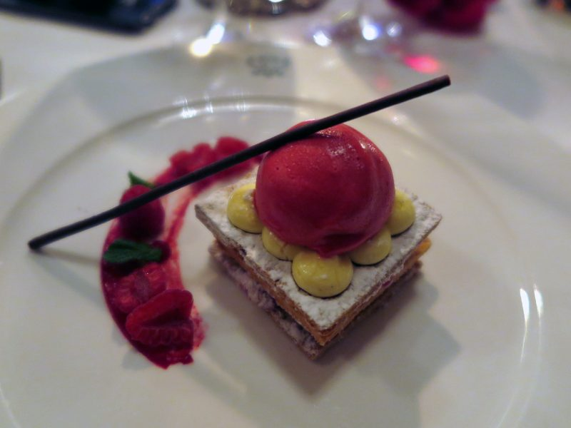 Mille Feuille: Berries / Sorbet